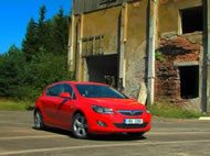 Video test Opel Astra 1.4T