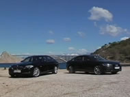 Video test Audi A6 vs BMW 5