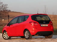 Video test Opel Meriva 1.7 CDTI