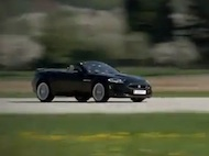 Video test Jaguar XKR-S Convertible