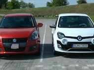 Test Suzuki Swift Sport vs. Renault Twingo R.S.