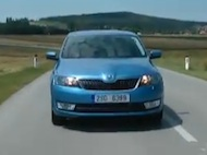 Test Škoda Rapid - 2012