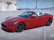 Video test Maseratti GranCabrio