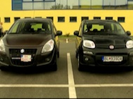 Test Fiat Panda vs Suzuki Splash