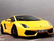 Test Lamborghini Gallardo LP 560-4