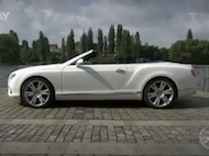 Video test Bentley Continental GTC V8