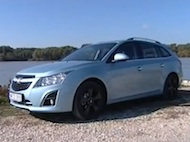 Video test CHEVROLET Cruze SW 1,4 Turbo