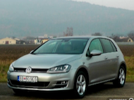 Test Volkswagen Golf 1,4 TSI