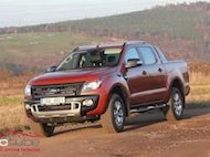 Test Ford Ranger Wildtrak