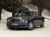 Video test Bentley Mulsanne Mulliner