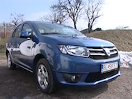 Video test Dacia Logan 0,9 TCe
