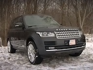 Video test Range Rover 3,0L TDV6
