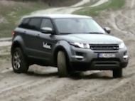 Video test Range Rover Evoque TD4