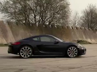 Video test Porsche Cayman S PDK