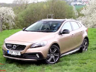 Video test Volvo V40 T5 CrossCountry