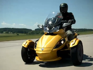 Video test Can-Am Roadster Spyder ST-S