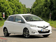 Video test Toyota Yaris 1.33