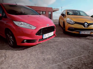 Test Ford Fiesta ST vs. Renault Clio RS