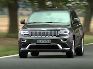 Video test Jeep Grand Cherokee CRD 4x4