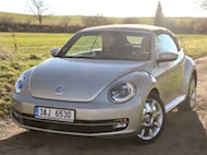 Video test VW Beetle Cabrio