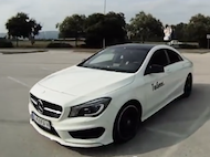 Video test Mercedes-Benz CLA 220CDI Edition1