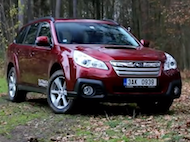 Test Subaru Outback 2.0D Lineartronic