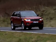 Video test Range Rover Sport