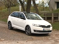 Video test Skoda Rapid Spaceback 1.6 TDI