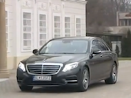 Video test MERCEDES BENZ S 350