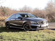 Video test Mercedes CLA