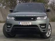 Video test Range Rover Sport SDV6