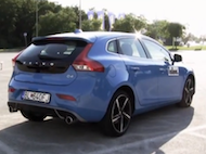 Video test Volvo V40 D4 R-Design