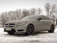 Video test Mercedes CLS 63 AMG S Shooting Brake