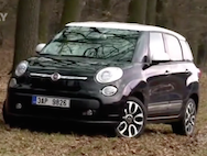 Video test Fiat 500L Living
