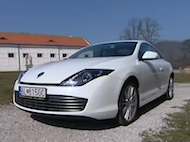 Video test Renault Laguna 2.0 dCi Coupe