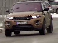 Video test Range Rover Evoque 2.2 SD4