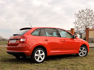 Video test Škoda Rapid Spaceback 1.6 TDI