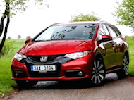 Test Honda Civic Tourer 1.6 i-DTEC