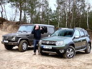 Video test Dacia Duster vs lada Niva