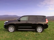Video test Toyota Landcruiser 3.0 D-4D