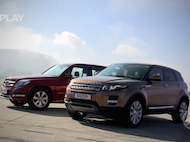 Video test Mercedes Benz GLK 4Matic vs Range Rove Evoque