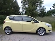 Video test Opel Meriva 1.6 DTH