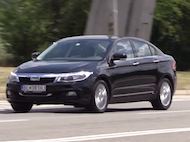 Video test Qoros3 sedan