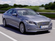 Video test Hyundai Genesis 3.8 V6