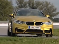 Video test BMW M4 Coupe