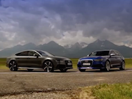 Test Audi RS6 vs Audi RS7