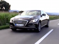 Video test Hyundai Genesis 3,8 HTRAC