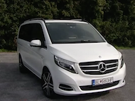 Test MERCEDES BENZ V 250
