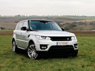 Video test Range Rover Sport SDV8