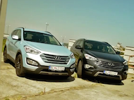 Video test Hyundai Santa Fe vs Hyundai Grand Santa Fe